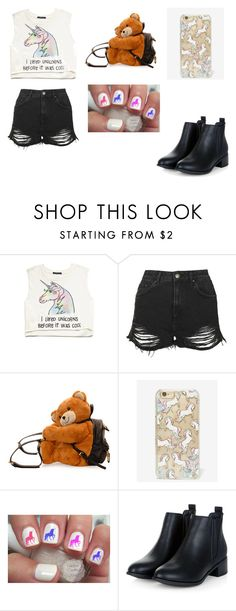 """Forever and Always"" by arialpayne ❤ liked on Polyvore featuring Forever 21, Topshop, Moschino, Skinnydip, women's clothing, women, female, woman, misses and juniors"