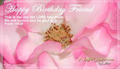 Happy Birthday eCard - Free A Joyful Creation Greeting Cards Online