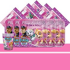 Amazon Paw Patrol Pink Girls Complete Party Pack - 16 Guests - K... https://www.amazon.co.uk/dp/B01HJOOQ6S/ref=cm_sw_r_pi_dp_x_dk-byb326QJHQ