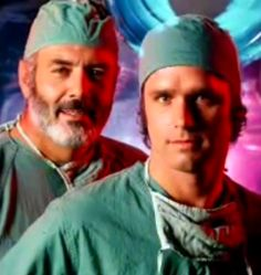 Pernell Roberts and Gregory Harrison - the dream team