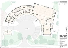 You Should Experience Architect House Plan At Least Once In Your Lifetime And Here's Why Auditorium Architecture, Cultural Architecture, Education Architecture, School Architecture, Architecture Plan, The Plan, How To Plan, School Floor Plan, School Plan