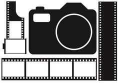 Filmstrip Filmstrips Camera Photo Photography SLR//Digital Die Cuts