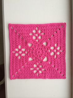 Crochet Granny Square Patterns Ravelry: Victorian Lattice Square - free pattern by Destany Wymore, ~free crochet patterns~ - Crochet Motifs, Crochet Blocks, Granny Square Crochet Pattern, Crochet Squares, Crochet Granny, Crochet Stitches, Crochet Patterns, Granny Squares, Heart Granny Square