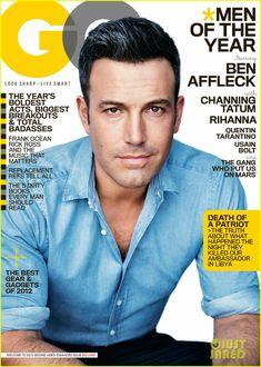 Ben Affleck covers GQ december 2012, Men of The Year