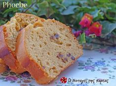 Κέικ με ταχίνι και μέλι Cooking Cake, Pastry Cake, Soul Food, Banana Bread, Food To Make, Healthy Recipes, Healthy Food, Desserts, Lent