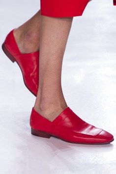 Red loafers, Noon by Noor Spring 2018