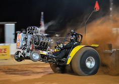 "The ""Family Force"" Modified Mini pulling tractor"