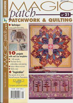 magic patch le patchwork et quilting no 21 - Vania Montes - Picasa Web Albums
