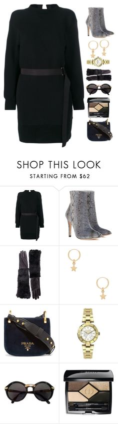 """""""Law Library I."""" by refinedpunk ❤ liked on Polyvore featuring Sacai, AlexaChung, Gucci, Amarilo, Prada, Versus, Cartier, Christian Dior, finals and librarychic"""