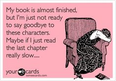 15 signs you're experiencing a book hangover.