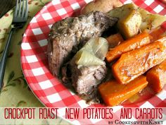Just your basic Roast New Potatoes - trying this without the onion soup mix and just onion powder . . .