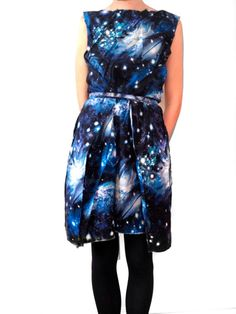 super cute space dress!