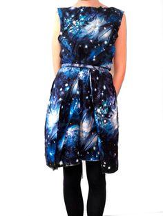 super cute space dress!