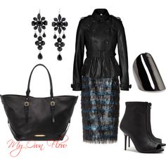 """""""BURBERRY"""" by myownflow on Polyvore"""