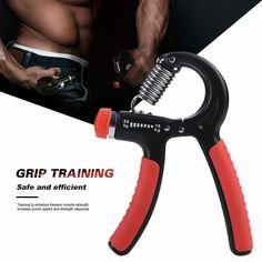 5-60Kg Adjustable Heavy Gripper Fitness Hand Exerciser Grip FatGrip Wrist #Unbranded