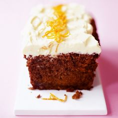 Beetroot cake with orange frosting recipe - Woman And Home