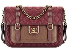Chanel CC Lock Leather  - Wishing this comes in a size big enough to be guy-worthy