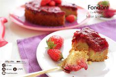 fondant fraise amandes