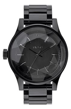 Nixon Faceted Crystal Bracelet Watch, 42mm available at #Nordstrom