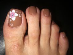 Reminds me of caramel with a white fowler-.* Shirley Nails *.