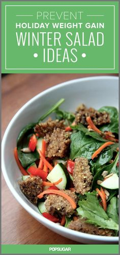 Prevent Holiday Weight Gain Winter Salad Ideas