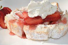 Strawberry Lavender Angel Roll