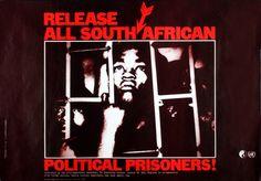 David King, Anti-Apartheid Movement Poster, United Kingdom  1977