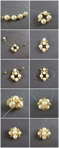 Easter jewelry inspiration project-how to make earrings studs out of pearls – Pandahall by co coressPandahall Original DIY Project – How to Make a…PandaHall Inspiration Project—White Glass…PandaHall DIY Project on How to Make Beaded Red… Wire Jewelry, Jewelry Crafts, Beaded Jewelry, Jewellery Box, Jewelry Ideas, Making Jewelry For Beginners, Jewelry Making, How To Make Earrings, Bead Earrings