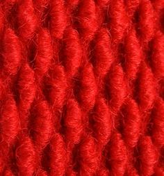 Color Rojo - Red!!! Fiber Fabric