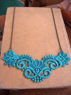 The Ruth Venice Lace Necklace - $18.99