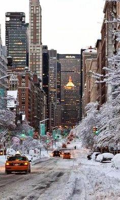 Winter, N.Y.C
