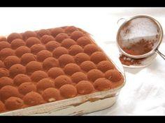 Tiramisù buonissimo! | Le ricette di DELIZIEePASTICCi - YouTube Dessert Party, Party Desserts, Cookie Desserts, Dessert Recipes, Tiramisu Dessert, Dessert Bread, Italian Pastries, Italian Desserts, Baba Recipe