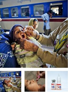 Polio Vacine - Unicef inspired gifts - $38.50 will provide 200 dosages of vaccine to prevent children from getting this incurable disease