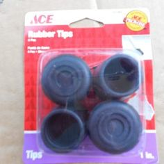 Shower Curtain Rod Rubber End Caps