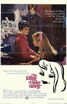 The Killing of Sister George (1968) starring Beryl Reid, Susannah York & Coral Browne