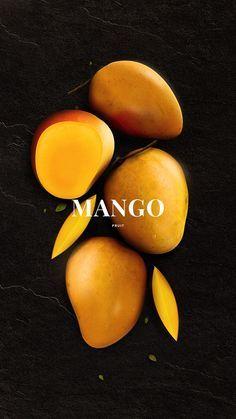 Fruit poster inspiration Ideas for 2019 - Obst Fotografie Mango Fruit, New Fruit, Fruit Fruit, Fruit Salad, Fall Fruits, Best Fruits, Fruit Packaging, Packaging Design, Flowers Wallpaper