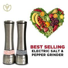 Health Goals, Gut Health, Pink Salt Benefits, Electric Pepper Grinder, Listen To Your Gut, Gut Feeling, Salt And Pepper, Glutenfree, Dairy Free
