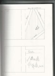 """Some of inspired Peter Saville sketches. The bottom sketch is strongly  """"stolen"""" from Peter's book."""