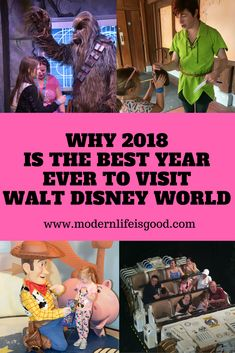 Why we think 2018 is the Best Year Ever to Visit Walt Disney World. Pandora - the World of Avatar plus Toy Story Land are new attractions and less crowds than 2019-21