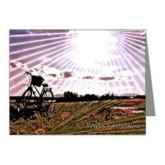 @FlawnOcho is Celebrating #BikeMonth Electrified Afternoon Note Cards (Pk of 10)> Note Cards> Flawn Ocho