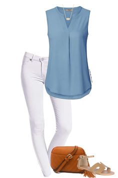 Summer Outfits For Moms, Casual Outfits For Moms, Mom Outfits, Spring Outfits, Cute Outfits, Fashion Outfits, Fashion Fashion, Simple Summer Outfits, Casual Summer