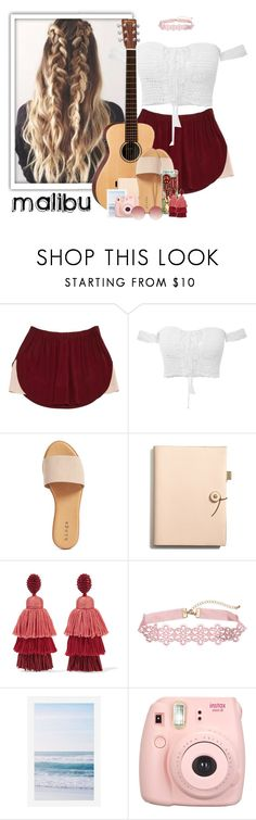 """594->""Malibu"" by Miley Cyrus"" by dimibra ❤ liked on Polyvore featuring Alöe, Isabel Marant, Hinge, Coach, Lauren Ralph Lauren, Oscar de la Renta, Pottery Barn, Fujifilm and Linda Farrow"