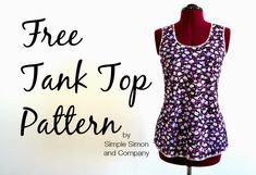 Three Free Summer Sewing Patterns, Tutorials, and Instructions
