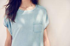 #esprit #denim #shirt #pocket #details #summerlook