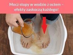 Mocz stopy w wodzie z octem – efekty zaskoczą każdego!