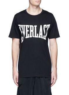 b12aa3c9e3924f PORTS 1961 X Everlast Logo Print T-Shirt.  ports1961  cloth  t-shirt. hanni  · Kleidung
