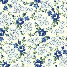 Reproduction Fabrics - Depression Era, 1930-1950 > fabric line: Blue - Depression Era