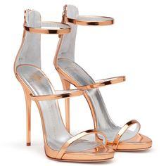 Harmony - Sandals - Gold Pink | Giuseppe Zanotti ®