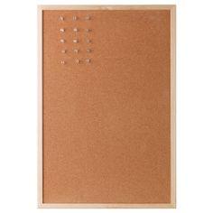 "VÄGGIS Noticeboard - IKEA $5.99  Width: 22 ¾ ""  Height: 15 ¼ ""  Width: 58 cm  Height: 39 cm"