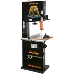 """Grizzly 17"""" 2 HP Bandsaw, Anniversary Edition"""